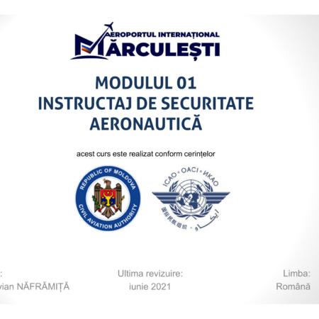MODULUL 1 – Instructaj de securitate aeronautică